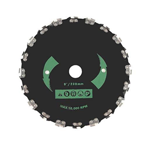 Cortadora de cuchilla en ángulo recto sierra de cadena del cortador de cepillo en ángulo recto Segadora Accesorios Hoja de sierra universal cadena de sierra de disco