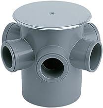 JIMTEN 09150 Bote sifónico (diámetro 50), Gris