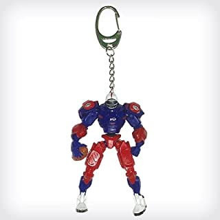 VORCOOL Antique Bronze Key Chain Cute Robot Key Ring Jewelry Making Charms Supplies