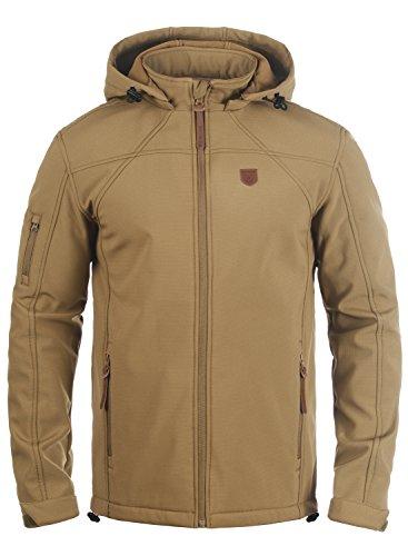 INDICODE Jonas - chaqueta softshell para hombre, tamaño:L, color:Cumnin (014)