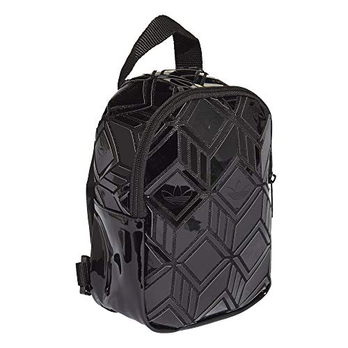 Adidas 3D mini backpack backpack. Black Black One Size