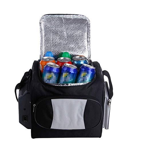 Kievy Auto-Kühlschränke Tragbare Gefriertruhe Abkühlung Hohe Kapazität geringer Energieverbrauch Outdoor Picknick-Drink 12 l