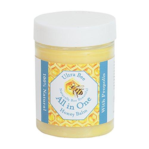 Bálsamo hidratante con miel y propóleo