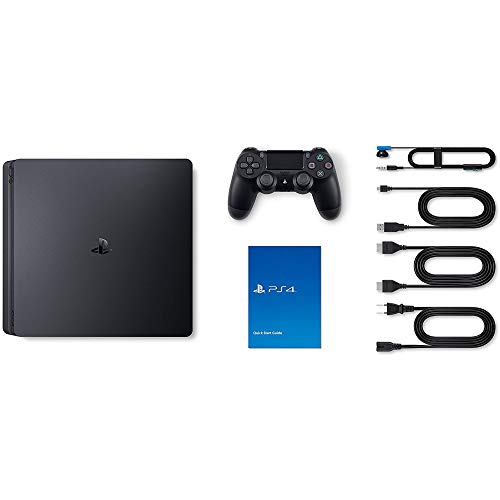 Sony Playstation 4 Slim 1TB Gaming Console, Black, Games Arcade Game Gamer Play Station