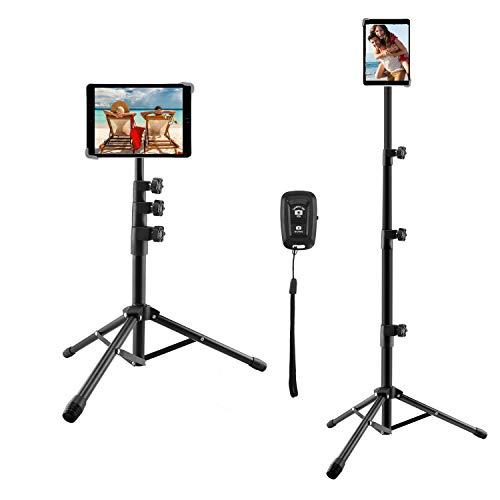 iPad-Stativ, höhenverstellbarer Tablet-Ständer für iPad 9,7 Zoll, iPad Pro 10,5...