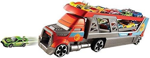 Hot Wheels Cdj19 Mega Hauler Truck, Speelgoedgarage Voor Gegoten Auto'S