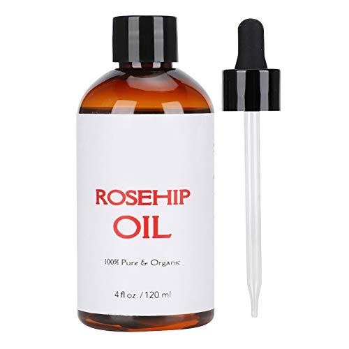 Liukouu Hagebuttenöl, Massage Ätherisches Öl Feuchtigkeitsspendendes SPA Aromatherapie Körpermassageöl 120ml
