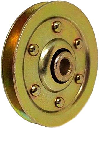 Read About Garage Door Pulley 3 Inch Heavy Duty Garage Door Pulley with Bearing - Garage Door Sheave...