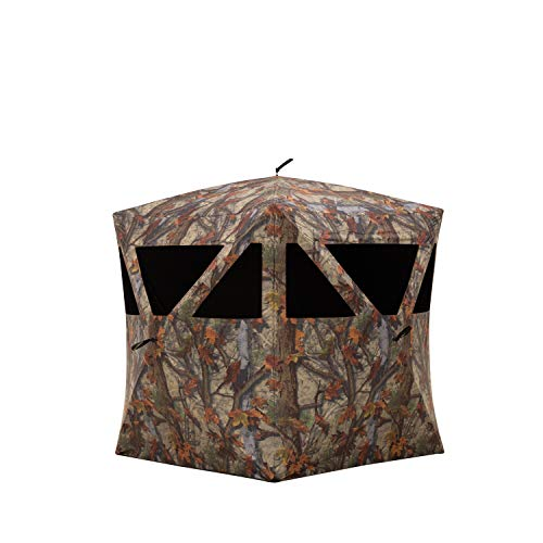 Barronett Blinds PR200BT Prowler 200 Ultra-Light Pop-Up Portable Hunting Blind, Woodland Camo