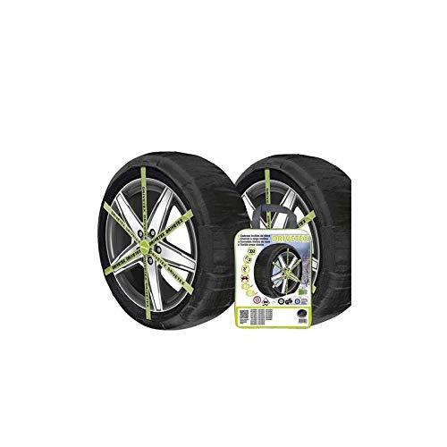 DRIVETEX-560 Pack 2 cadenas textiles coche homologación GS/TUV/ONORM V5121 PADRIVETEX-560