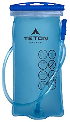 TETON Sports 3L Hydration Bladder; BPA Free Water Reservoir; Easy to Refill and Clean