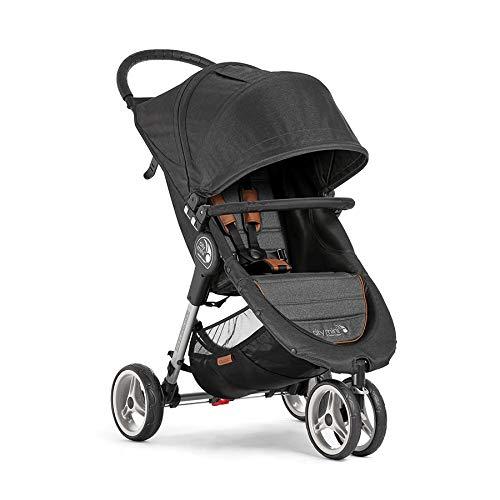 Cochecito Baby Jogger City Mini 3 Décimo Aniversario BJ2051654 con barra delantera incluida y sistema de doblado a una mano Quick-Fold
