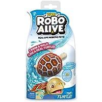Zuru Robo Alive Little Fish Collection Mascotas robóticas de la Vida Real, activadas por Agua, Little Clouwnish – Nadan como un pez Real