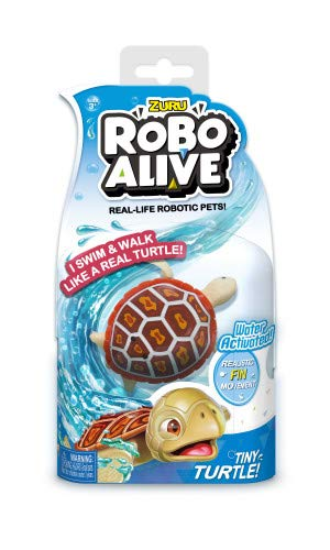 New Zuru Robo Alive Little Fish Collection - Mascotas robóticas activadas por el agua