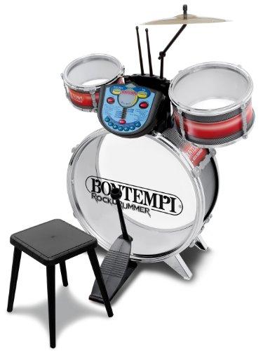 Bontempi JE 5690 - Schlagzeug mit elektronischem Modul