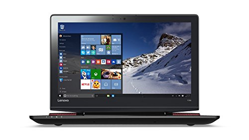 Lenovo Y700 39,6 cm (15,6 Zoll Full HD) Laptop (Intel Skylake Core i7-6700HQ, 8GB RAM, 256GB SSD, NVIDIA GeForce GTX 960M, externer DVD-Brenner,Win 10) schwarz