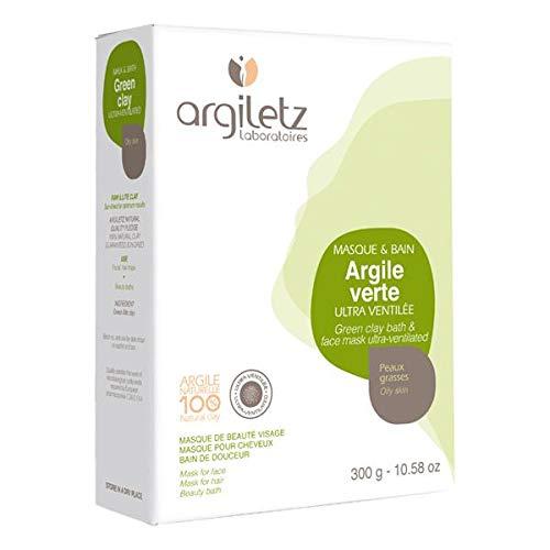Argiletz - Argile verte ultra ventilée 300G - Prix Unitaire - Livraison Gratuit En France métropolitaine sous 3 Jours Ouverts
