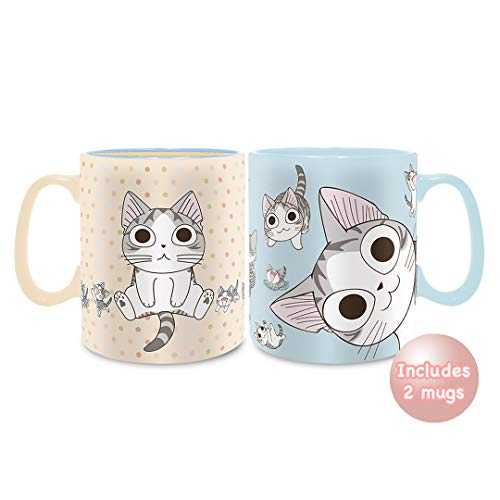 Chi's Sweet Home - Cat Lovers Mug Assortment, 16 ounces