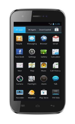 Mobistel MT-8201S Cynus F5 Smartphone (12,7 cm (5 Zoll) Display, 8 Megapixel Kamera, Dual SIM, Frontkamera 1,3 Megapixel, 1GHz Dual Core, Dual SIM, Android 4.1) schwarz