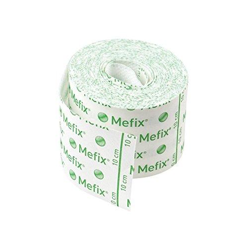 Mefix-Klebeband, 10 m, wasserdampfdurchlässig, dehnbar und komfortabel