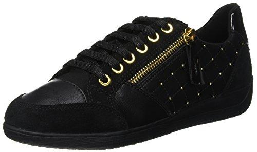 Geox D Myria B, Zapatillas Mujer, Negro (Black C9999), 38 EU