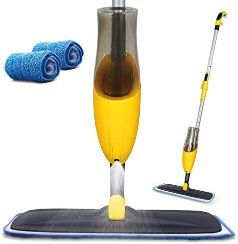Yocada Microfiber Spray Mop with Total 2 Washable Mop Pad for Hardwood Ceramic Marble Tile Laminate product image