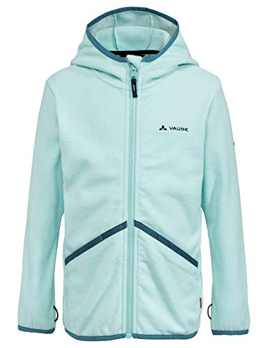 Vaude Kinder Jacke Kids Pulex Hooded Jacket, Glacier, 134/140, 41857