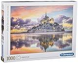 Clementoni-Le Magnifique Mont Saint-Michel Puzzle, 1000 Piezas, Multicolor (39367)