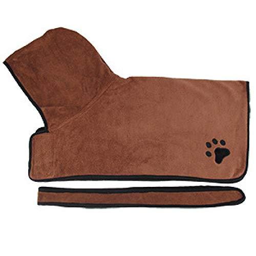 Yhkj Productos de compra de toallas de baño para mascotas, toallas de baño súper absorbentes para mascotas, albornoces para perros, toallas de baño para gatos, suministros para mascotas