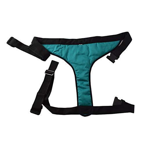 XER Rollstuhl-Sicherheitsgurt rutschfest Gürtel Baumwolle Polster Art Rollstuhl Schutz- Gürtel Zurückhaltung Gürtel Alten Patienten Sicherheit Pflege