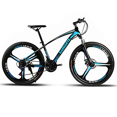 GYF Bicicleta de montaña Mountainbike Bicicleta Montaña for Bicicleta 26' 21/24/27 Velocidad Doble Disco de Freno de Bicicletas MTB Bicicleta Mountainbike Bicicleta De Montaña