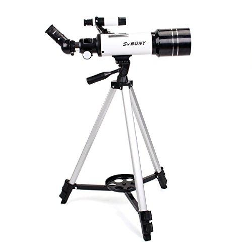 Svbony SV35 Telescopio Astronomico Zoom 420/60mm Telescopio Niños 120x con...