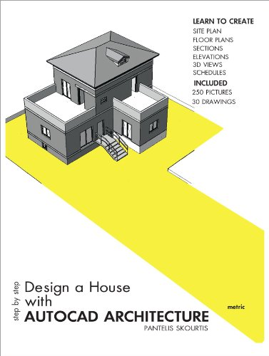 Step By Step Design A House With Autocad Architecture Kindle Edition By Skourtis Pantelis Arts Photography Kindle Ebooks Amazon Com