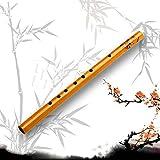 1 Unid Chino Tradicional 6 Agujeros Flauta De Bambú Flauta Vertical Clarinete Estudiante Instrumento Musical Color Madera (Color : 1)