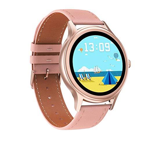LXZ 2020 Oxígeno Presión Inteligente Reloj De Señoras De Moda Impermeable Reloj Deportivo De Monitor De Ritmo Cardíaco De Sangre para Android Xiaomi,A