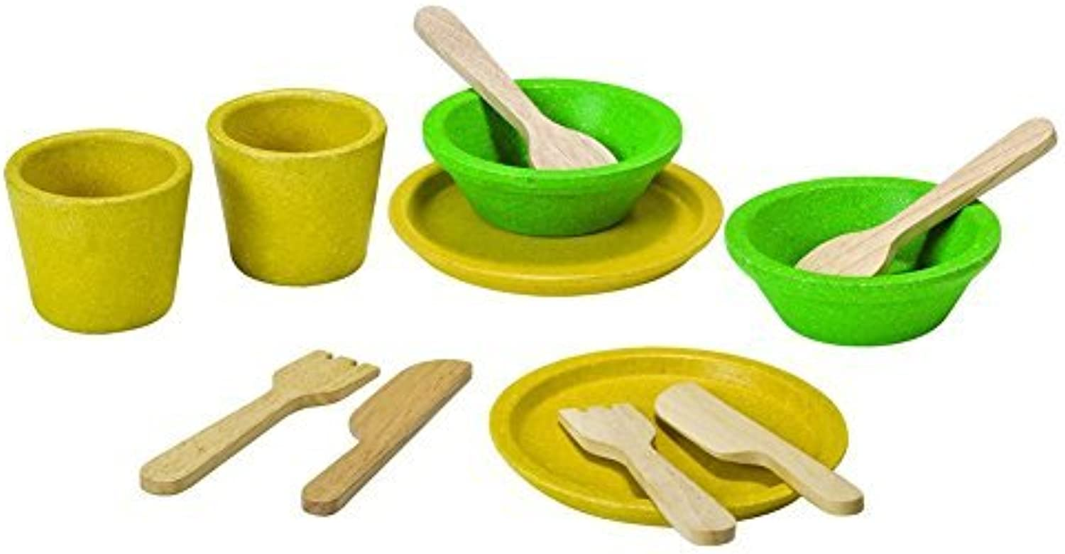 Plan Toys Activity Tableware Playset by PlanToys