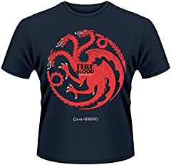 Playlogic International(World) Game of Thrones Fire and Blood Camiseta Manga Corta para Hombre