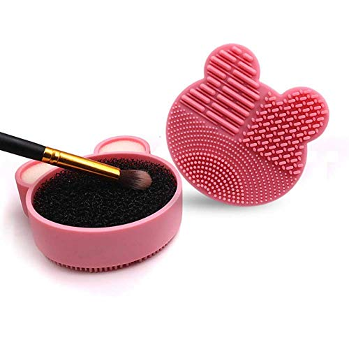 Pinceau De Maquillage Makeup Brush Cleaner Washing Brush Pad Cleaning Mat Cosmetic Brush Cleaner Universal Make up Tool Scrubber Box 2