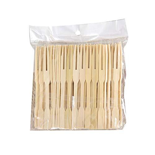 Tenedores Pequeños Bambu Marca Fangfeen