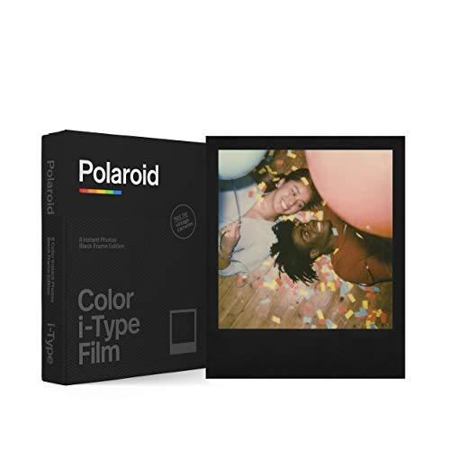 Polaroid - 6019 - Pellicola istantanea colore per i-Type – Black Frame Edition