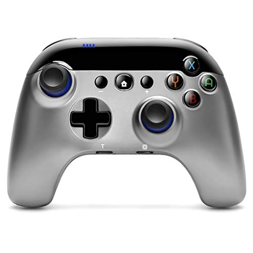 Wireless Pro Controller for Switch, Redesigned Ergonomic Gamepad Replacement Motion Control Remote with Turbo Function Compatible with Switch & Switch lite