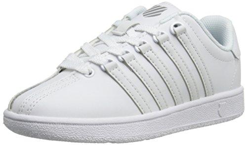 [ケースイス] ユニセックス・キッズ Classic Vn Leather カラー: ホワイト