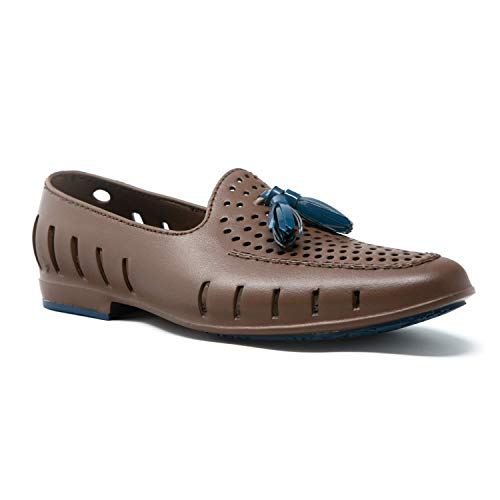 Floafers Executive Tassel Men's Water Shoes, Functional and Stylish EVA Foam, Waterproof, Lightweight, Sectional Traction, Comfortable, Classy Anti-Slip Indoor and Outdoor Shoes, Floats on Water