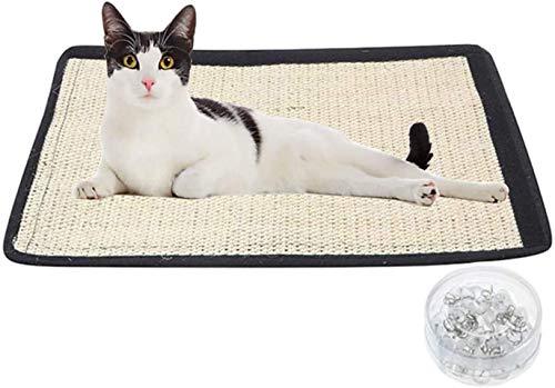 VCXZ Suministros para Mascotas Nuevo Y Creativo Rascador De Gato De Sisal Almohadilla De Protección Anti-rasguños para Sofá Cat Scratcher Estilo de uñas 40 * 29cm