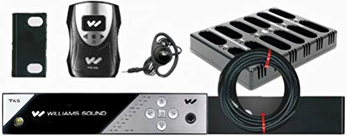 Buy Discount Williams Sound FM 458-24 PRO Personal PA Pro FM Assistive Listening System, Includes 24...