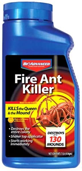 Bayer Sbm Life Science 502832B BioAdvanced Fire Ant Killer 16 Oz Dust Quantity 8