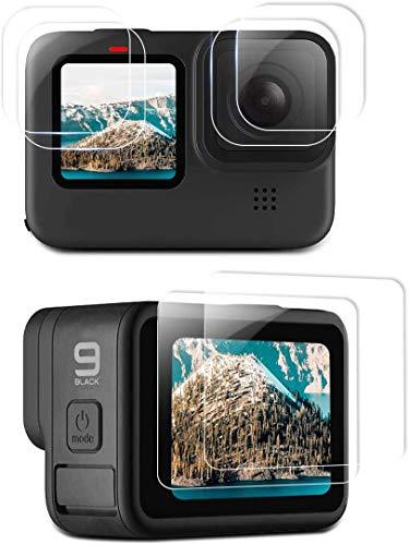 Linghuang Protector de pantalla para GoPro Hero 9 LCD cristal templado película...