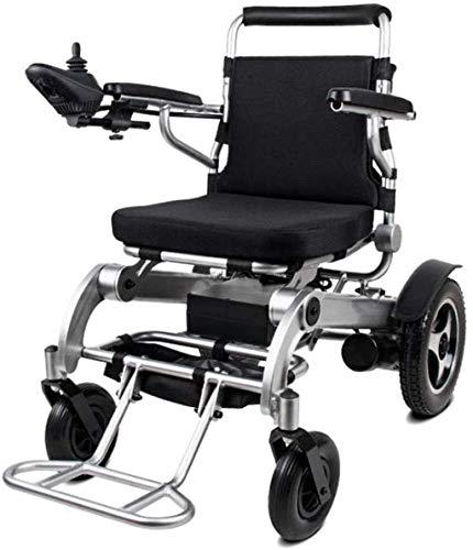 Silla de ruedas eléctrica Exclusiva, ligera, plegable, eléctrica, aeroespacial Diseño de aluminio,...