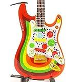 Music Legends Collection - Guitare Miniature Fender Stratocaster Rocky G. Harrison Beatles