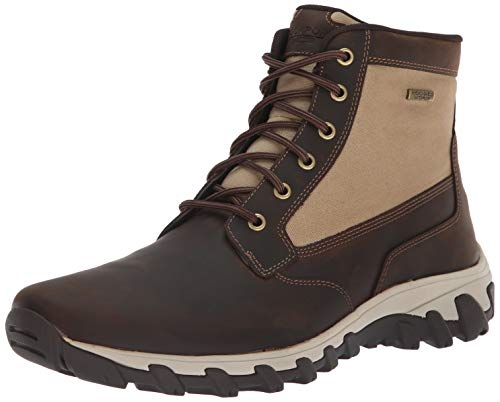 Rockport Men's Cold Springs Plus Mid Boot Boot, brown, 12 W US